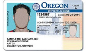 Something like what my new license will look like